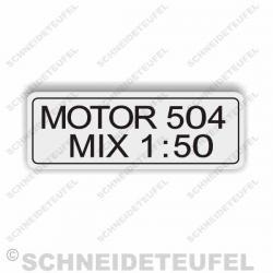 DKW 504 Mix Tankaufkleber