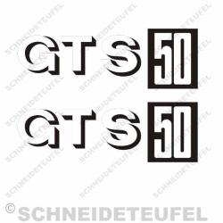 Zündapp GTS 50 Aufkleberset