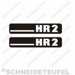 Hercules HR2 Aufkleberset