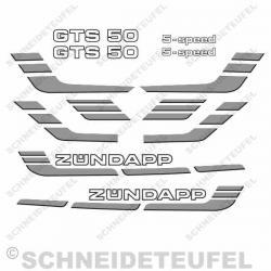 Zündapp GTS 50 Set silber