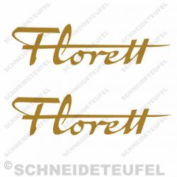 Kreidler Florett gold Set