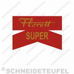Kreidler Florett K Schutzblechaufkleber