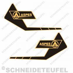 ASPES Tankaufkleber
