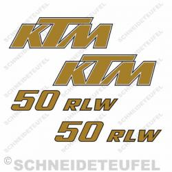 KTM 50 RLW Set gold