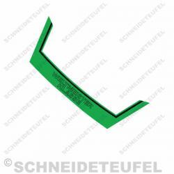 Kreidler Heckaufkleber Weltmeister Grün