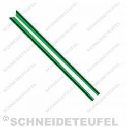 Kreidler Sitzbanklinien grün Set