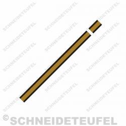Kreidler Tankstreifen schwarz/gold