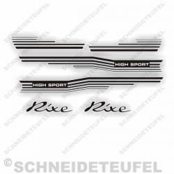 Rixe High Sport Aufkleber Set