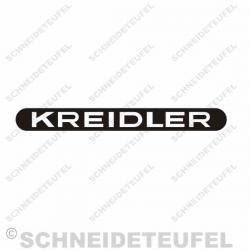 Kreidler Lampenaufkleber s/w