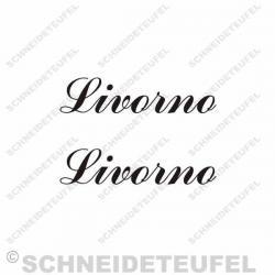 Livorno Fahrrad Aufkleber