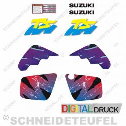 Suzuki TS Aufkleberset
