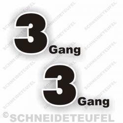 Kreidler Mofa 3 Gang Set