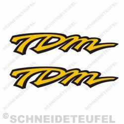 Yamaha TDM Schriftzug