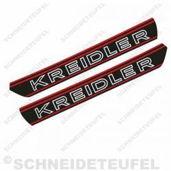 Kreidler Tankaufkleber Rot Set