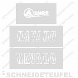 Aspes Navaho Sitzbank Schablone