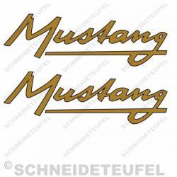 Kreidler Mustang Schriftzug Set