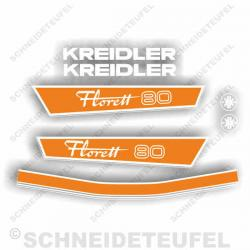 Kreidler Florett 80 orange