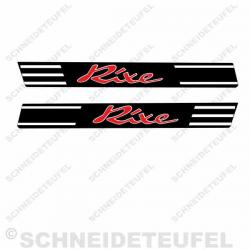 Rixe Tankaufkleber RS 50
