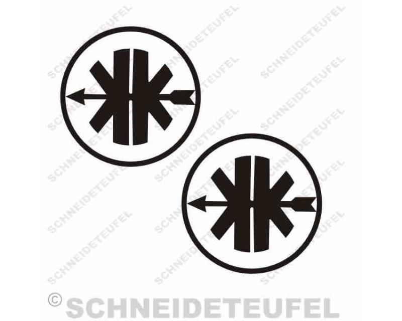 Aufkleber Kreidler Logo Dekoration