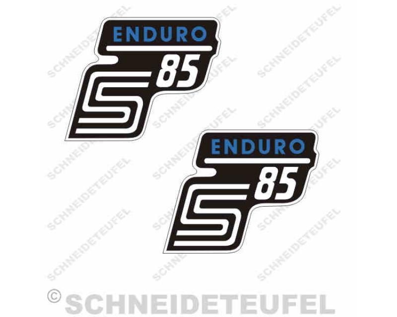 Simson S85 Enduro Aufkleber Set