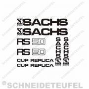 Sachs Cup Replica Aufkleberset