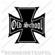 Old School Aufkleber