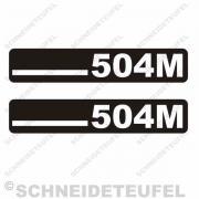 DKW 504 M Aufkleber