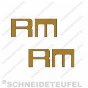 Kreidler Tankschriftzug  RM Set