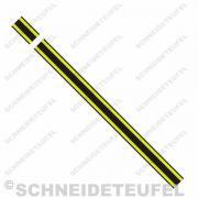 Kreidler Tankstreifen gelb/schwarz