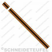 Kreidler Tankstreifen orange/schwarz