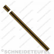 Kreidler Tankstreifen gold/schwarz