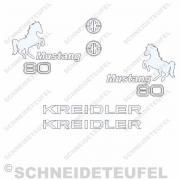 Kreidler Mustang Aufkleber Set
