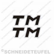 Kreidler TM Seitenaufkleber