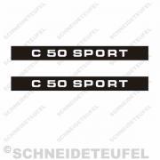 Zündapp C 50 Sport Aufkleberset