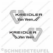 Kreidler Van Veen Aufkleberset