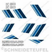 Zündapp K80 Komplettset blau