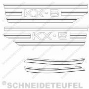 Hercules KX-5 Seitenaufkleberset