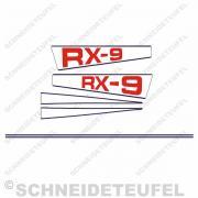 Hercules RX-9 Aufkleberset