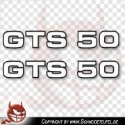 Zündapp GTS 50 Schriftzug