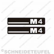 Hercules M4 Trittbrettaufkleber