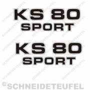 Zündapp KS 80 Sport schwarz