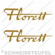 Kreidler Florett gold Set