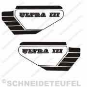 Hercules Ultra III Seitenaufkleber schwarz