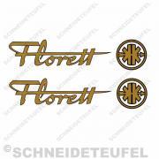 Kreidler Florett Gold schwarz
