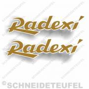Radexi Tankaufkleber