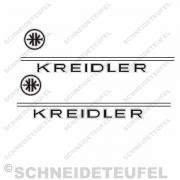 Kreidler Tankaufkleber - Amerikanisches Modell