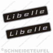 Rixe Libelle Seitenaufkleber