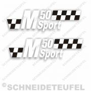Puch M 50 Sport Seitenaufkleber