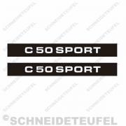 Zündapp C 50 Sport Seitenaufkleber