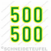 John Deere Lanz 500 Zahlen